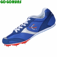 short race sprint outdoor ultralight breathable spikes running shoes men trainers sport track field sneakers running shoes 186g