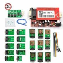 Profesjonalny programator OBD2 UPA ECU UPA USB V1.3 z pełny Adapter ENC potężna funkcja dla skanera programatora darmowa wysyłka