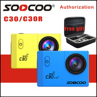 SOOCOO C30 4K Wifi Action Camera NTK96660 Adjustable Viewing Angles 70 170 Degrees Underwater Night Vision