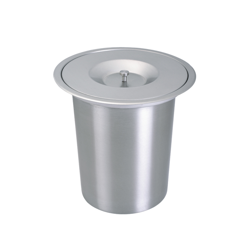 Well-known 8L Factory Quality Built in Trash Can Kitchen Waste bin Stainless  DG63