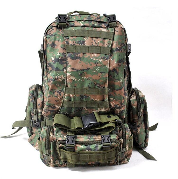 Tactique armée militaire 3D Molle assaut sac à dos sac à dos en plein air chasse randonnée sac
