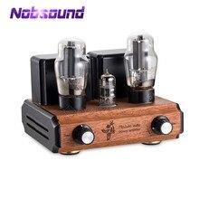 Вакуумный трубный усилитель Nobsound Mini 12AX7 + 6L6, Hi Fi стерео аудио класс A, Одноконтурный усилитель