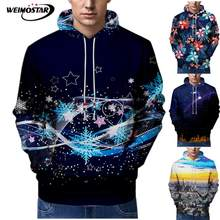 Weimostar Printing 3D Sweatshirts Men Women Sweatshirt Hip Hop Hoodies Street wear Cool Skateboard Tracksuit Pullover Tops(China)