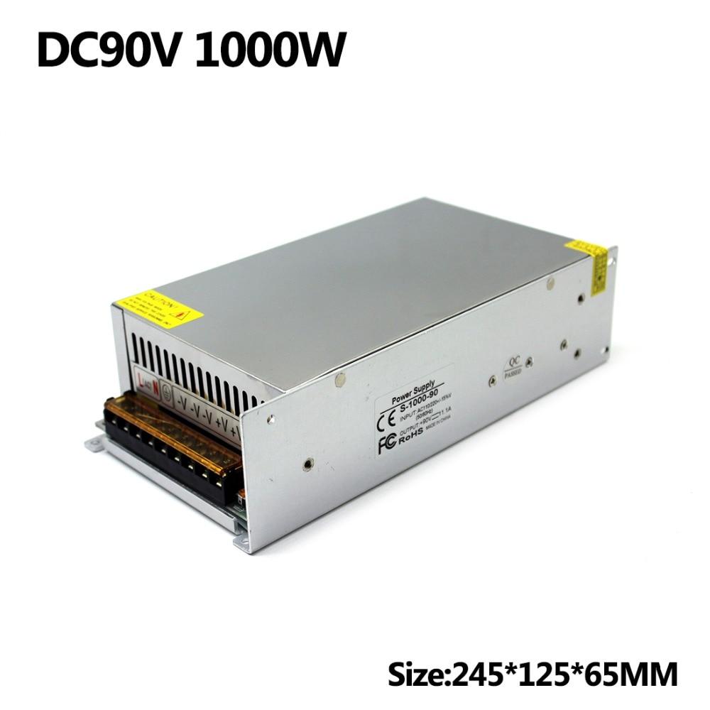 Switching Power Supply Transformer Ac 110V 220V to Dc 90V 11 1A 1000W Regulated For 3D