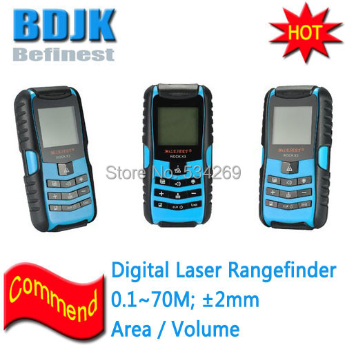 0.1 to 70M and 2MM Accuracy IP67 Laser Distance Meters / Rangefinder / Laser Meter unit ut395a ut395b ut395c laser distance meters 50m 70m 100m rangefinder best accuracy software data calculate continuous measur