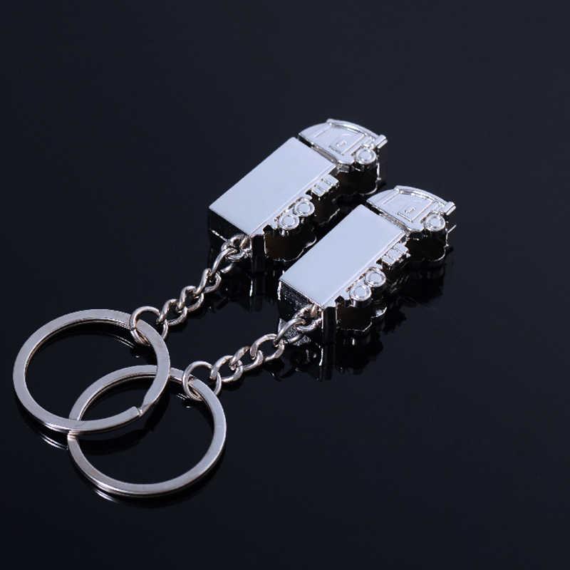 ZN Mini รถบรรทุกโลหะ Key รถบรรทุกรถ Keyfob พวงกุญแจของขวัญ Creative Lovely Keyring สำหรับผู้หญิงผู้ชาย