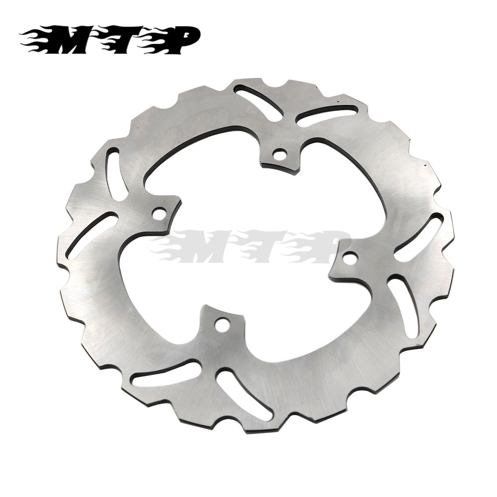 Steel Motorcycle Rear Brake Disc Rotor For Honda VFR400 NC30 RVF400 NC35 Braking Dish Racing Ride Wheel for honda nc700 nc750 ctx700 nm4 vultus motorcycle accessories rear wheel brake disc rotor od 240mm stainless steel