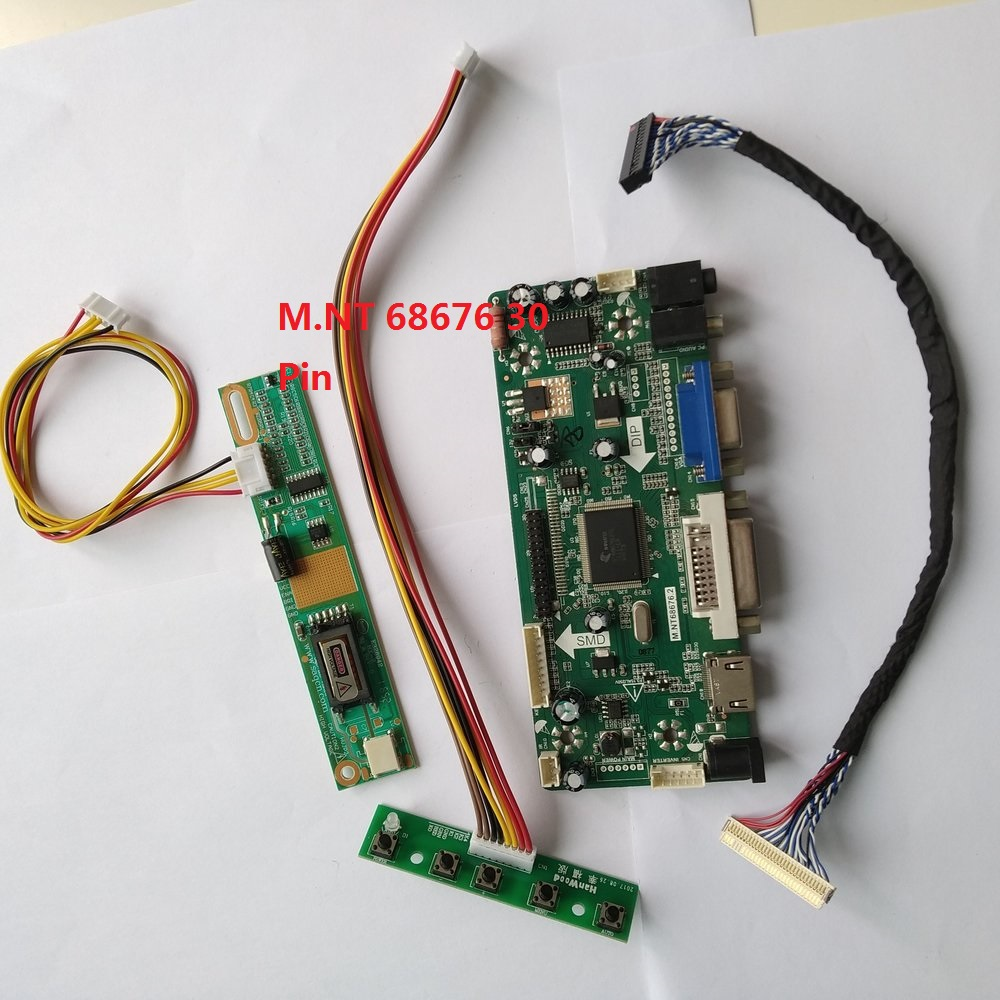 VGA 06 LCD LED Controller Board lvds Kit For LP154W02 HDMI DVI TL Audio