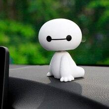 Big Hero Baymax Robot Shaking Head Figure for CAR Ornament