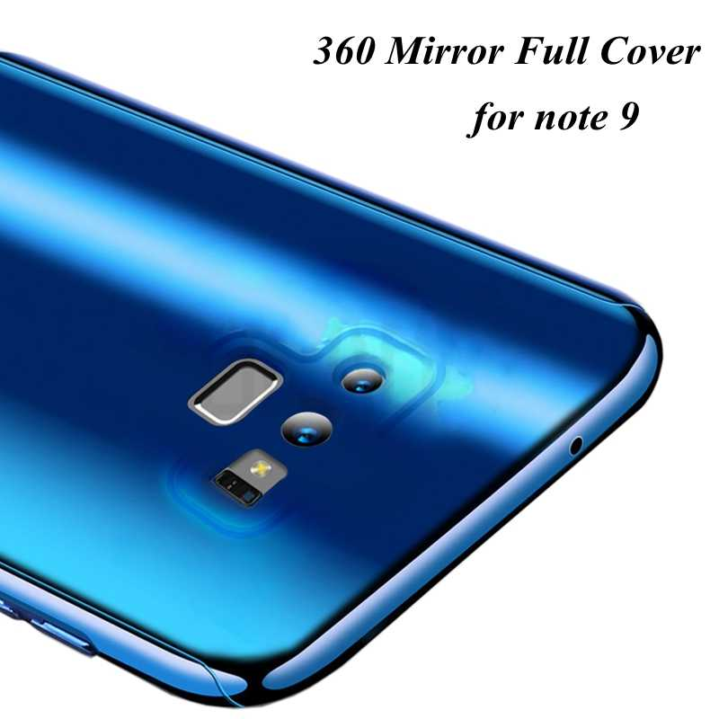 Dành Cho Samsung S8 S9 S7 Note 8 Note 10 Cao Cấp 360 Gương Coque Bao Da Dành Cho Samsung Galaxy Note 9 8 S7 Edge S9 S8 S10 Plus Ốp Lưng