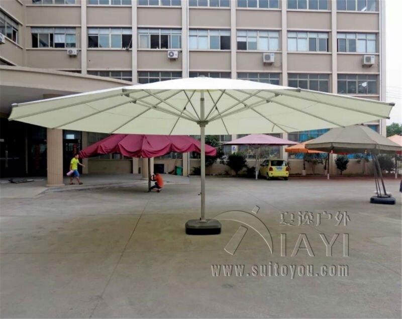 Dia 8 meter king size super deluxe big garden sun umbrella parasol patio cover sunshade outdoor furniture covers smoby детская горка king size цвет красный