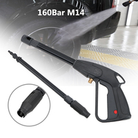 Water Gun Adjustable Car Washing Cleaning Tools Auto Care Spray Nozzle Car Washer High Pressure Power Home Garden Usage