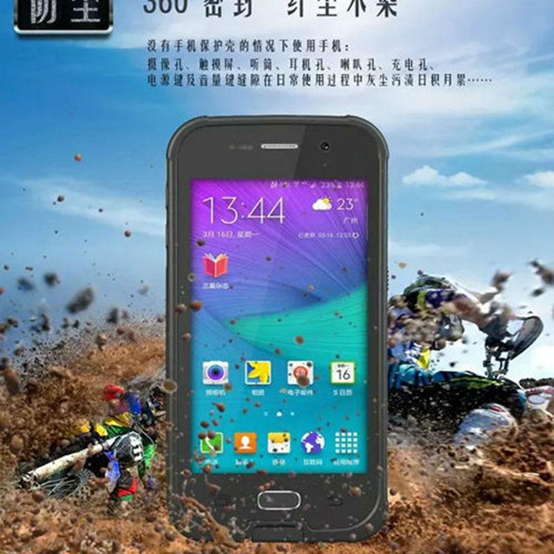 Цена за Для Samsung Galaxy S6 оригинальный Redpepper водонепроницаемый чехол для Samsung S6 G9200 воды/шок/грязь/Снег Доказательство чехол телефона оптовая продажа