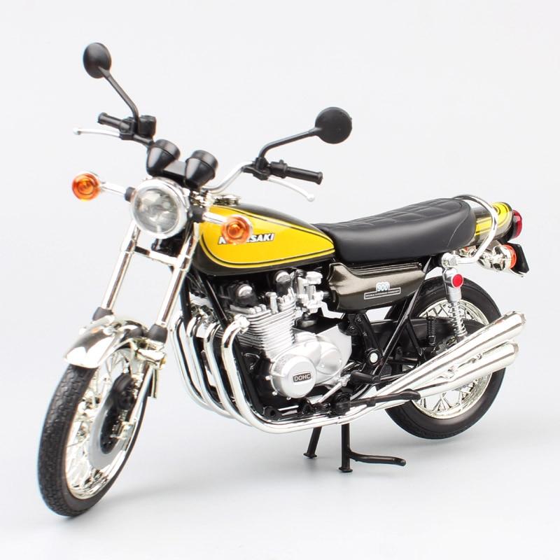 kids 1/12 scale mini automaxx motorbike vintage Kawasaki 900 super 4 Z1 S4 model Super Four race metal Diecast motorcycle toy