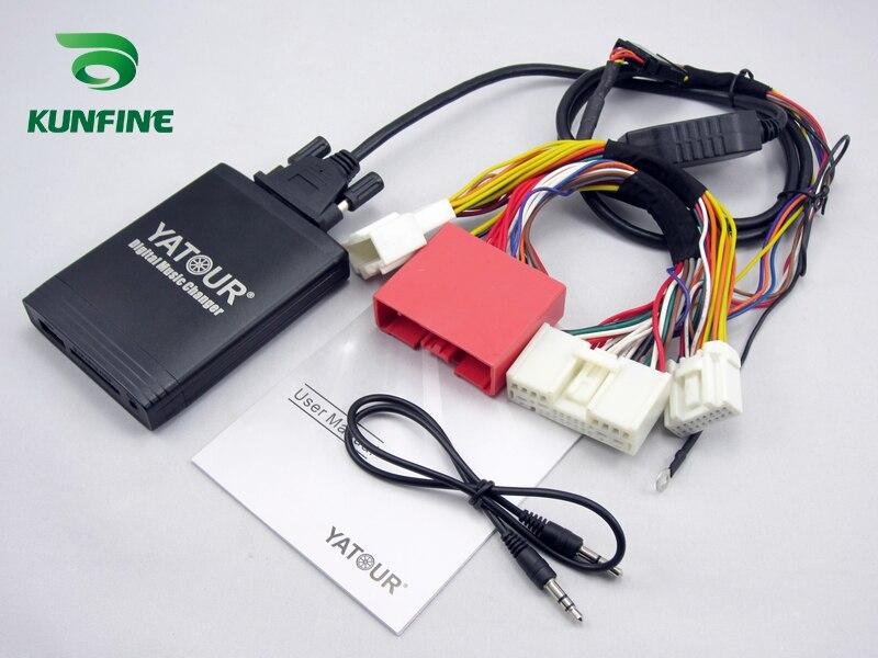 Yatour цифровой автомобильный радиоприемник USB адаптер для Honda Accord Civic CRV Odyssey Pilot - 2