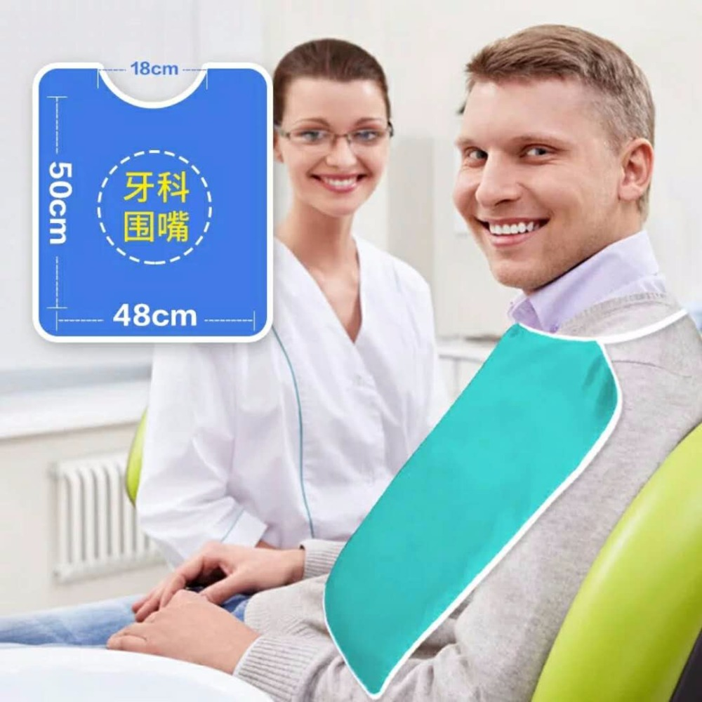 Dental Bib Scarf, Pocket Cloth, Oral Cavity, Ribbon Scarf And Dental Materials Oral Cavity Dental Medical Cloth Special Cotton