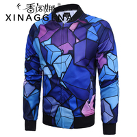 Popular Element Zipper Jacket Male Slim Casual Student Plus Size Coat Men S Hip Hop School