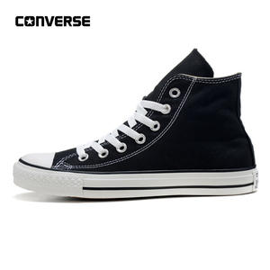 650f2280ed4 Converse All Star Shoes Skateboarding Shoes Man Women High Classic Unisex  Black Sneakers