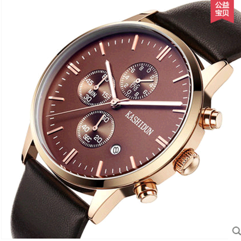 Men Watches 2016 Leather Luminous Men Quartz-Watch Reloj Hombre Water-proof Luxury Clock Man Watch For Men Buy Direct From China от Aliexpress INT