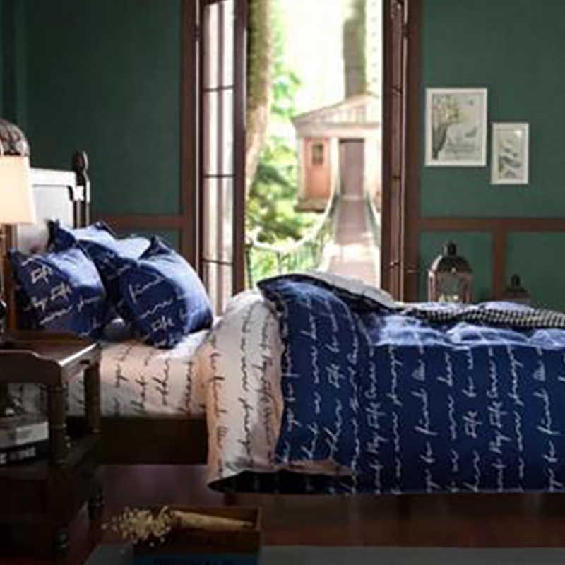 HIFUAR zestaw pościeli flower3/4 sztuk nadruk z różą luksusowe łóżko pościel na kołdrę poszewka na poduszkę pościel dekoracja pokoju tekstylia domowe