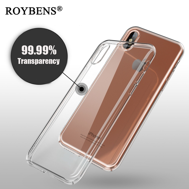 size 40 067dc 60c2e US $2.03 49% OFF|For iPhone X 10 Case 99.99% Transparent Hard PC Crystal  Ultra Thin Back Cover For Apple iPhone X 10 Slim Clear Acrylic Cases-in ...