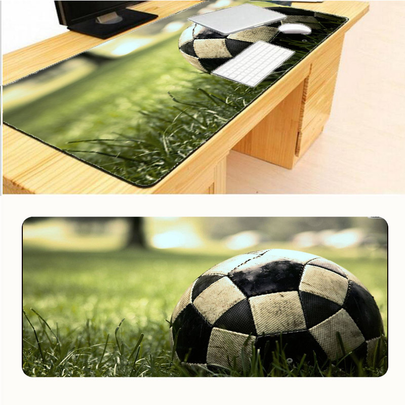 Mairuige Football Drop Shipping Original Design Speed Gaming Edition Mouse Pad 900 * 300mm Edge of Locking Mouse Pad for Laptop