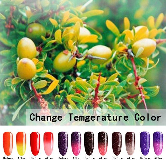 Натуральный чистый Здоровый бренд-Аргана масло, получаемое ногтей гель для ногтей необходимо уф светодиодная лампа для Термическое Изменение Цвета