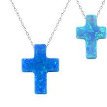 Nueva llegada elegante opal choker collar cruz diseño amistad collares de alta calidad de 925 collar de plata esterlina joyería