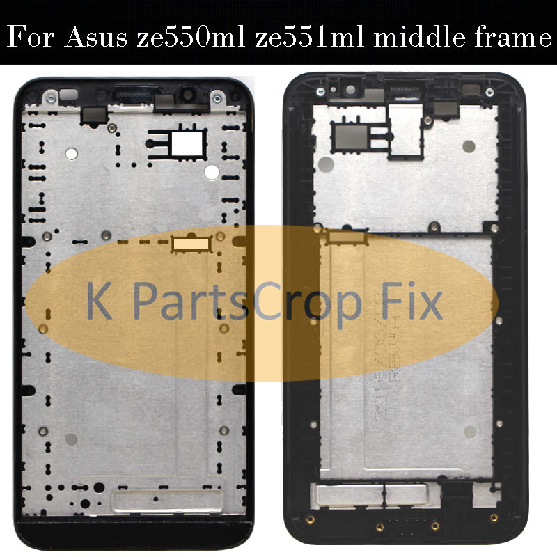 Housing Ze550ml Replacement-Parts Zenfone Middle-Frame Asus for Front-Bezel Z00AD