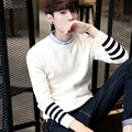 Amazon quality drop shipping 2016 Sweater Men Fashion Sweater Men Leisure Slim Pull Homme O-Neck Long-Sleeved Sweater