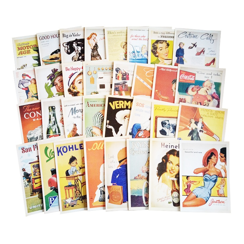 32 Pcs/pack Vintage Old memory Postcard Fashion Christmas Gift Postcard Birthday Greeting Card Lovely Greeting Cards velvet платье до колена