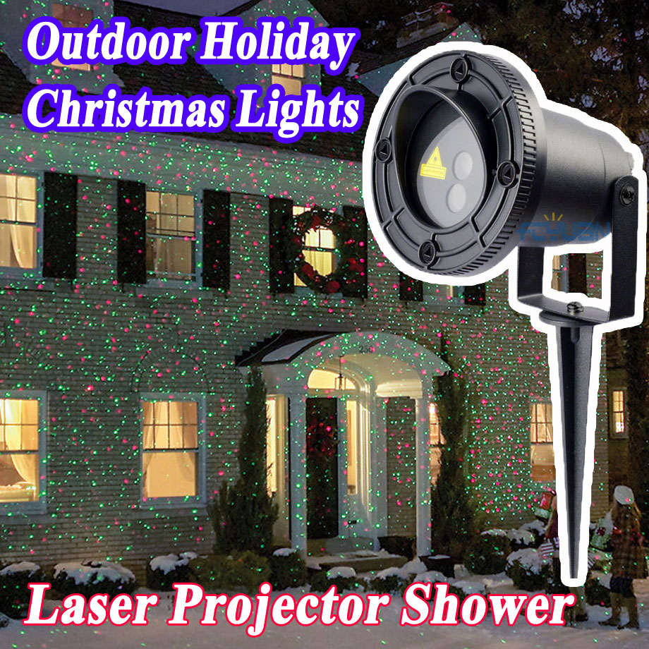 Christmas Laser Projector Outdoor Lumiere 2017 New Year Christmas Decorations For Home Red Green Mix Move Effect With Remote