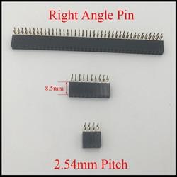 2*13 2x13 2*17 2x17 2*20 2x20 Pin 26 P 34 P 40 P 2.54mm 8.5mm wysokość złącze żeńskie dwurzędowy kątowy listwa kołkowa w Złącza od Lampy i oświetlenie na