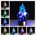 Usb Led 3d Lamp Christmas Lights Indoor 3d Light Star Master  Remote switch/Touch switch 3d Night Light