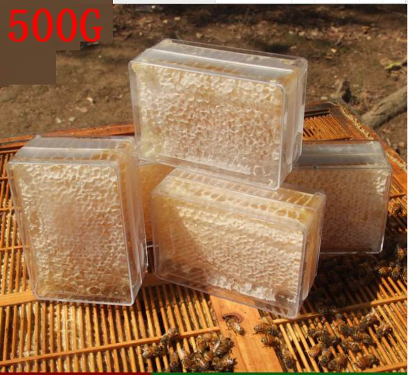 500g  Pure Honeycomb Chewing On Honey Farm Makes Real Honeycomb Honey Natural Bee Hives Nutrition Health Women Food Dessert