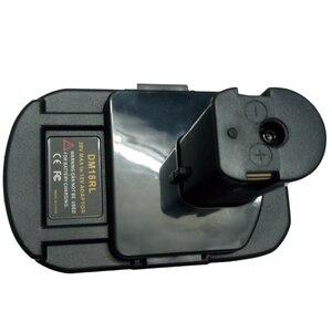 Image 2 - Adaptador de batería DM18RL para Dewalt, Milwaukee, 20V/18V, batería de ion de litio para Ryobi 18V P108 ABP1801