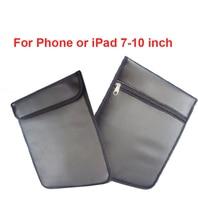 16Pcs Anti-Scan Card Sleeve Pu Tas Ok Voor Telefoon & 7-10