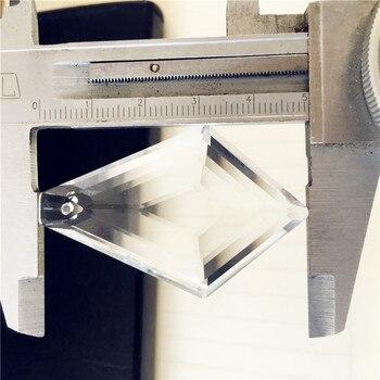 Modern 50mm 100pcs Crystal Chandelier Lights Parts For Living Room Cristal Lustre Chandeliers Lighting Hanging Ceiling Pendants