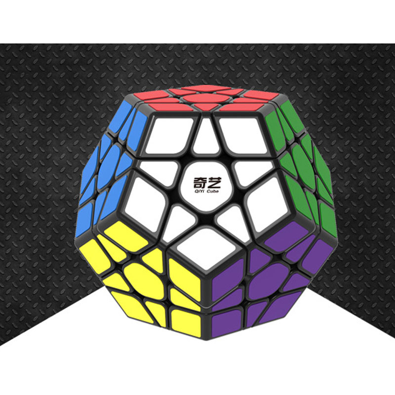 QIYI Megaminx Special Toys 12-side Magic Cube Puzzle Speed Cubes Educational Toy New Sale x cube 8 layers 86mm magic cube puzzle cubes educational toy special toys with gift box