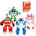 4 pçs/set Coréia clássico robô Transformação Brinquedos Brinquedos de plástico Melhor Gifs Para Crianças frete grátis