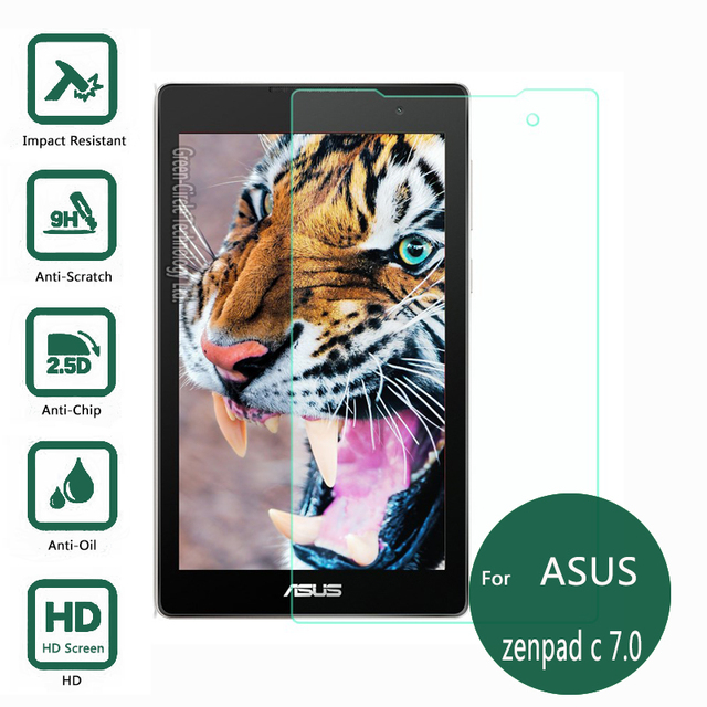 For Asus Zenpad C 7.0 Z170C Tempered Glass Screen Protector 2.5 9h safety Protective Film on Zen pad C 7 Z170 170C 170