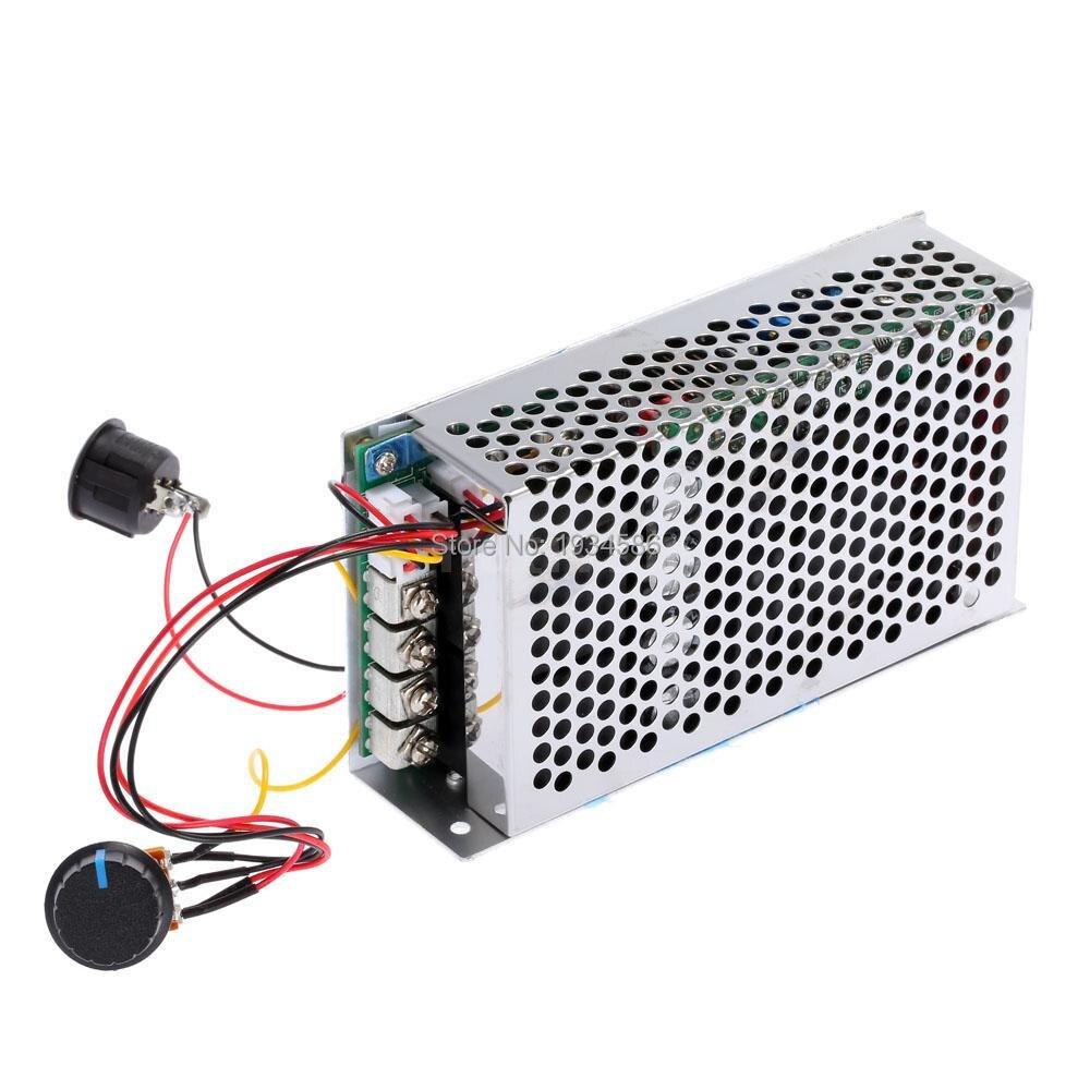 DC 10 50V 12V 24V 36V 48V 100A Programable PWM HHO RC Motor Speed ...
