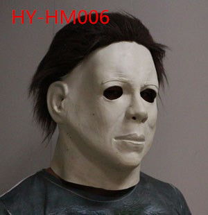 Top 10 fashion brands Top quality latex Scary michael myers mask for Halloween&Party