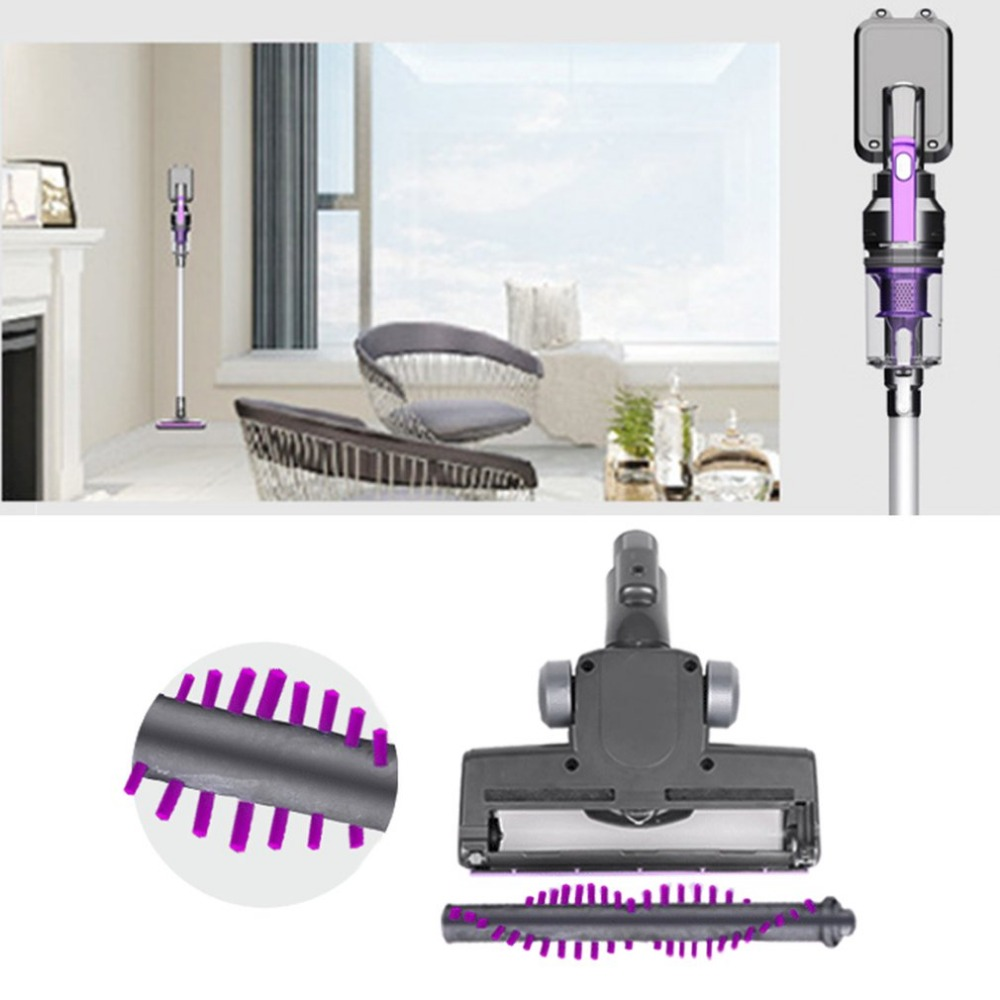 2-in-1 Wireless Handheld Vacuum Cleaner Upright Stick Vacuum Carpet Cleaning Filtration Ultra Silent Turbo Brush Bagless Cleaner