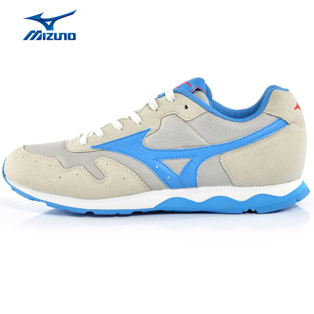 d879fa46997 MIZUNO Tênis de Malha dos homens Beathable Amortecimento Calçados  Esportivos SKYROAD Estabilidade Luz Running Shoes K1GG158825