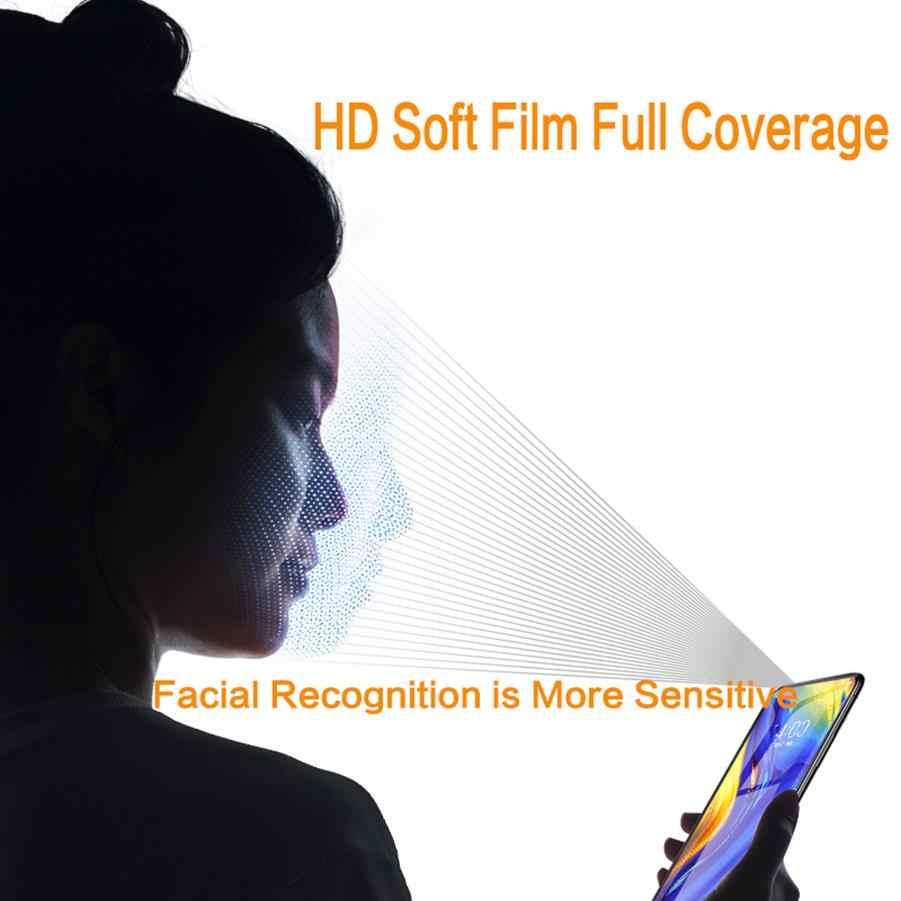 لينة PET فيلم لسامسونج نوت 8 نوت 9 S10 S9 واقي للشاشة رقيقة جدا ل غالاكسي S10Lite S9 S8 زائد S7 S6Edge فليم ليس الزجاج