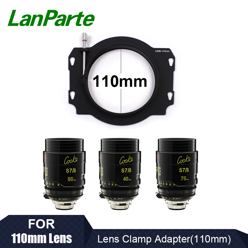 LanParte Matte Box Lens Clamp Adapter 110mm for DSLR Camera