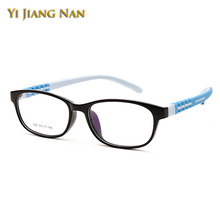 Yi Jiang Nan Brand Teens Frame Boy and Girls Student Eyeglasses Frames Flexible Silicone Eyeglasses Frames Kids Myopia Glasses