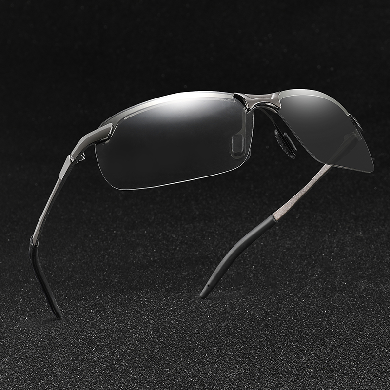 The New Photochromic Sunglasses Men Polarized driving Chameleon Glasses Change Color SunGlasses HD Day Night Vision Driving in Women 39 s Sunglasses from Apparel Accessories