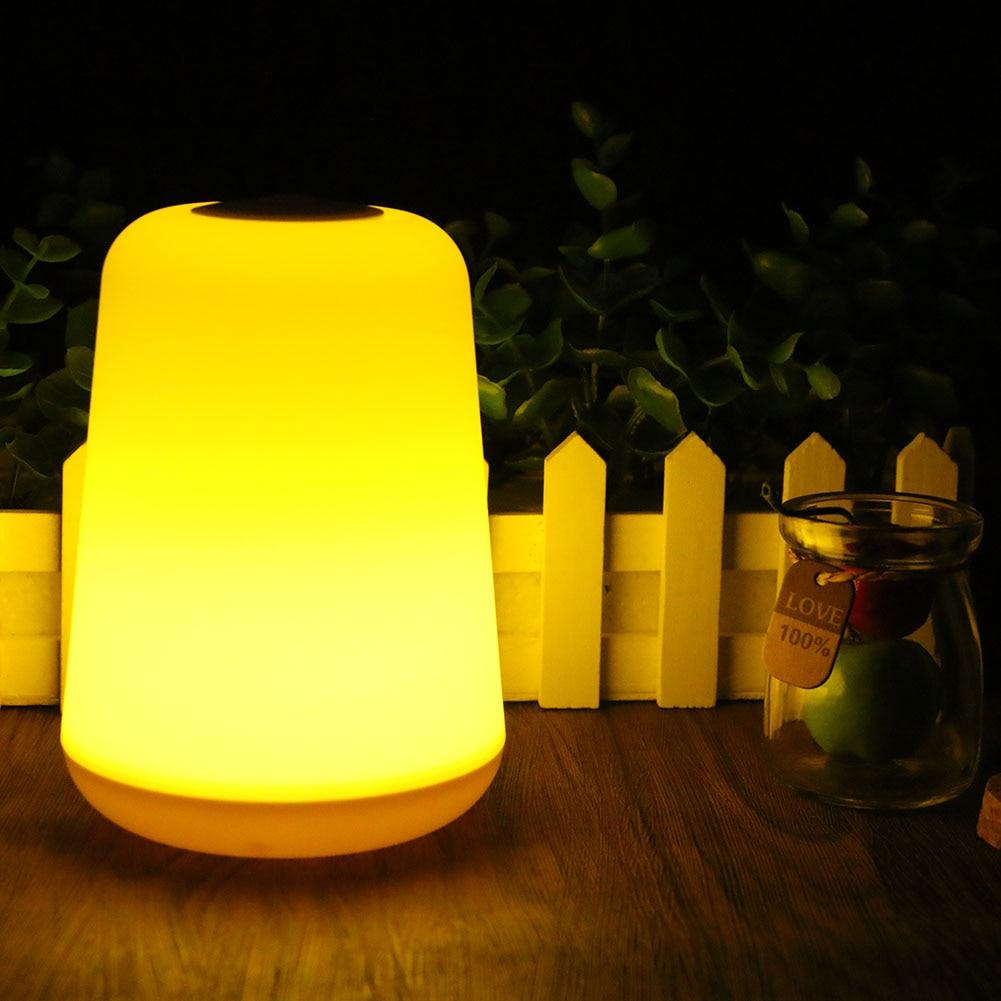 Портативный светодиодный свет ночи ABS Кемпинг лампы с на/выключения Применение 3 AAA Батарея свет для Спальня, кемпинг Открытый лампы ...